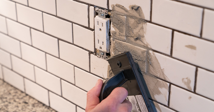 How To Grout A Tile Backsplash Like Pro