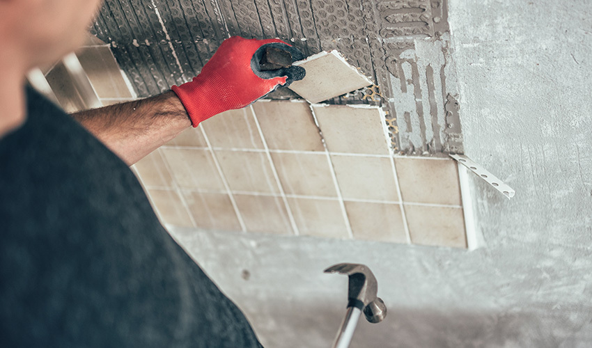 How To Remove Kitchen Tile Backsplash Without Ruining The Wall