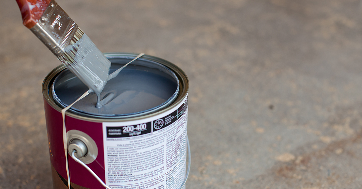 The Simple Solution To Messy Paint Cans