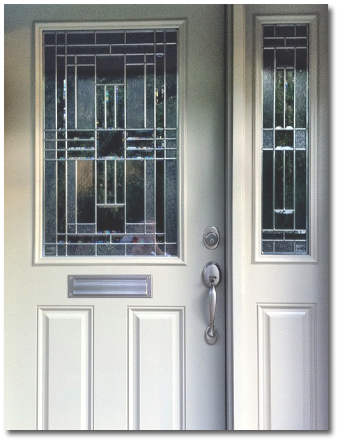 Front door replacement or refurbishment with painting for Front door replacement
