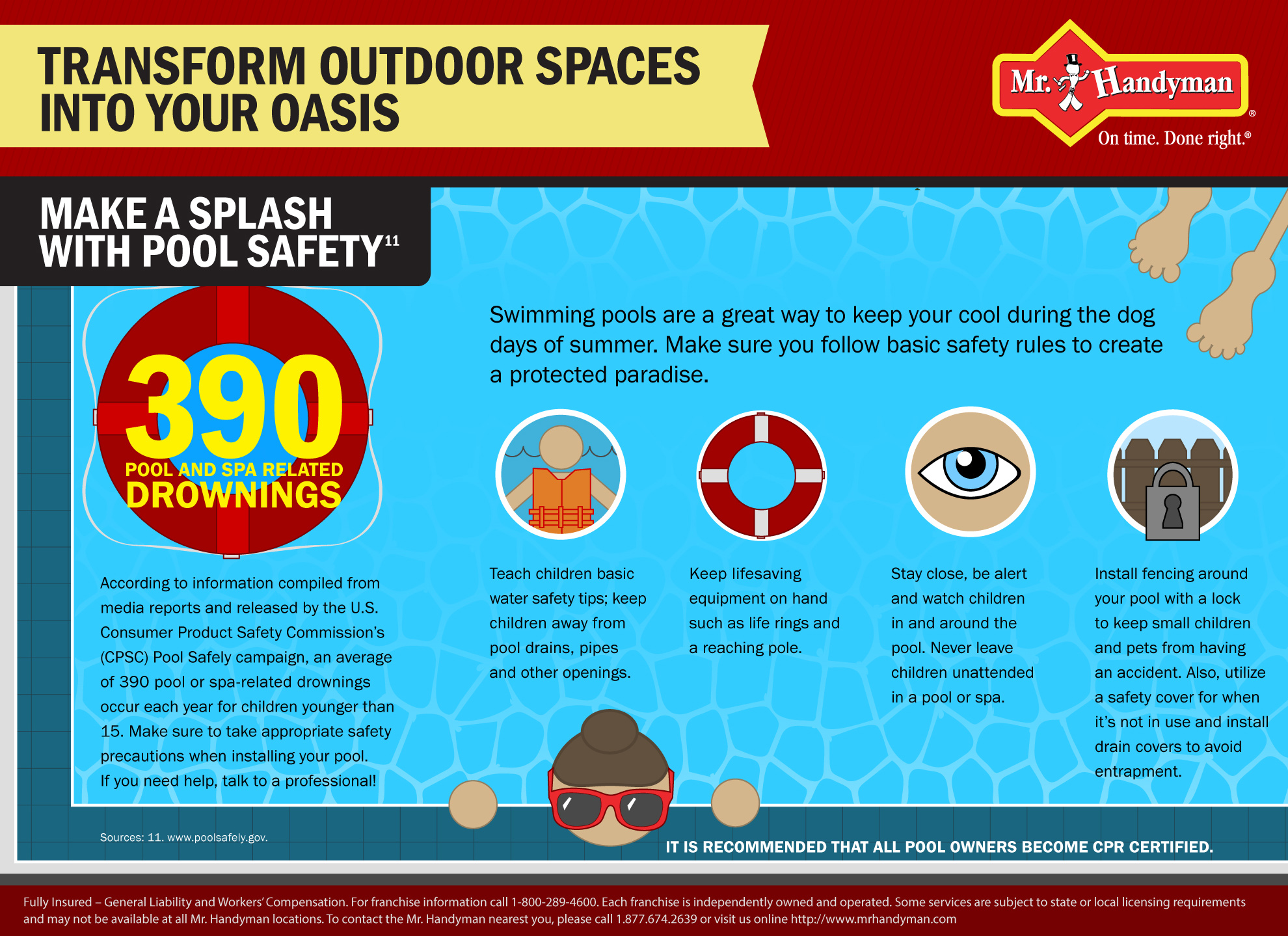 Make a Splash with Pool Safety   Pool Safety Tips
