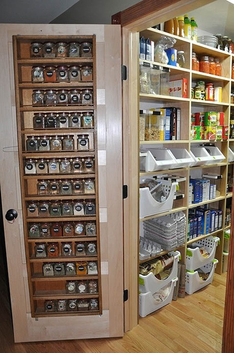 pantry organization turn green with pantry envy