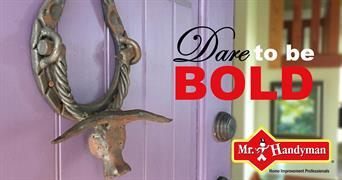 """Dare to be Bold"" Banner"