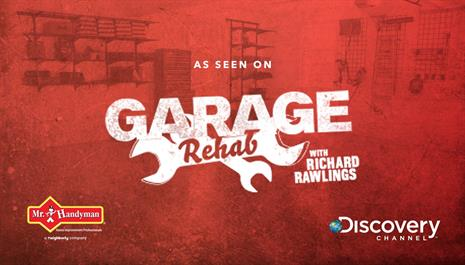 Garage Rehab with Richard Rawlings banner