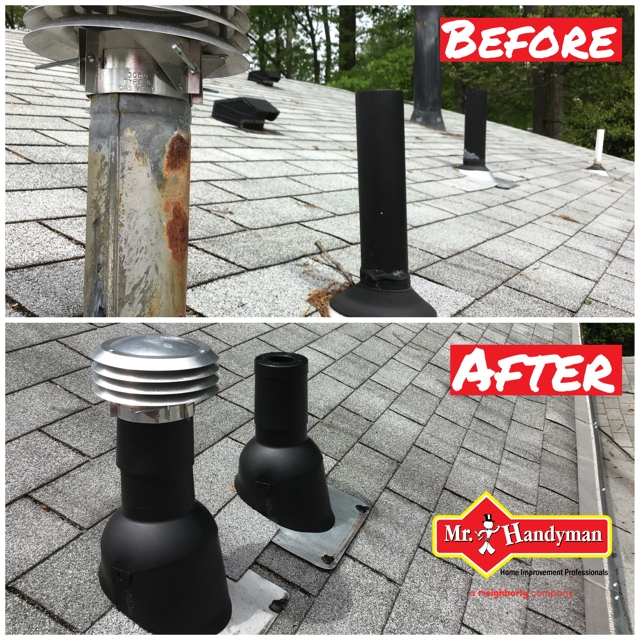roof vent boot installation springfield virginia - a Recently Complted Project