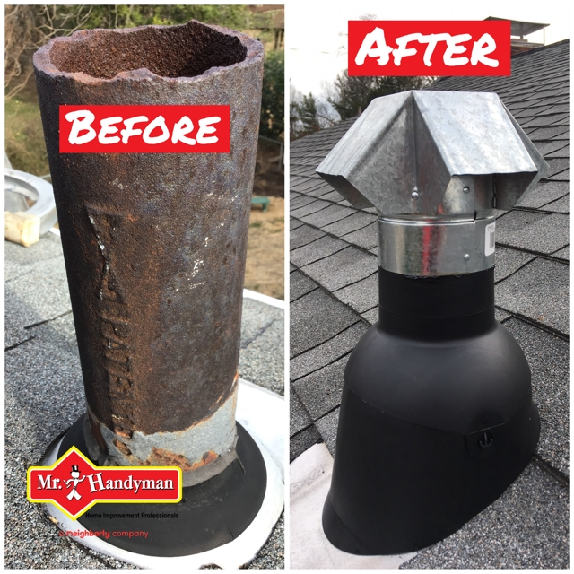 roof vent pipe repair arlington virginia - a Recently Complted Project