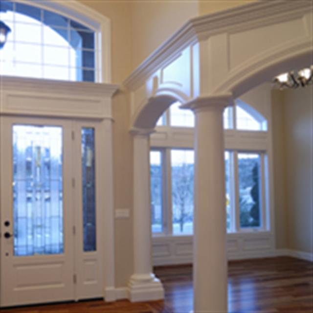 Add character to your home with decorative molding #carpentry #remodel #mrhandyman9286