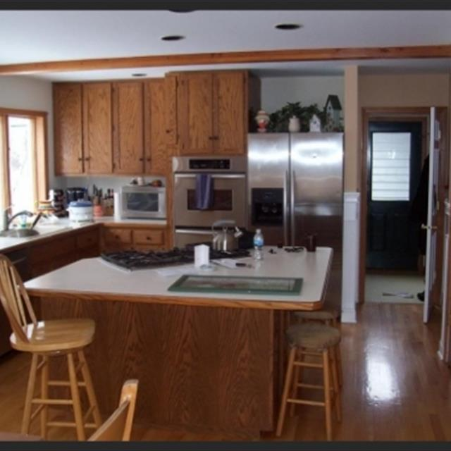 Before image of kitchen remodeling job