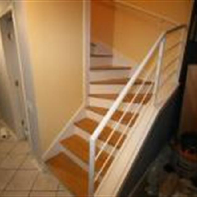Completed staircase job