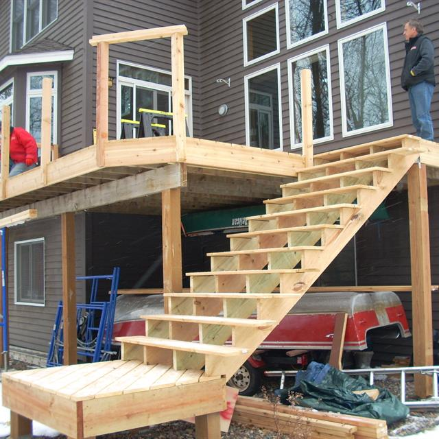 Deck building project