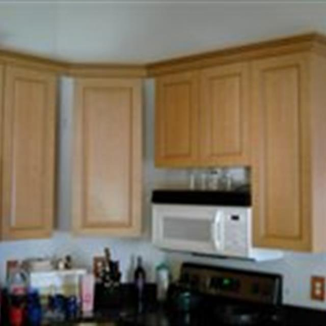 Cabinet and Moulding Installation #handyman #kitchens #mrhandyman4805
