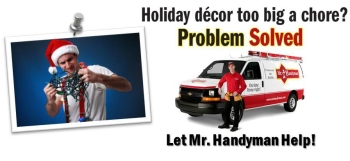Mr. Handyman Holiday Service banner