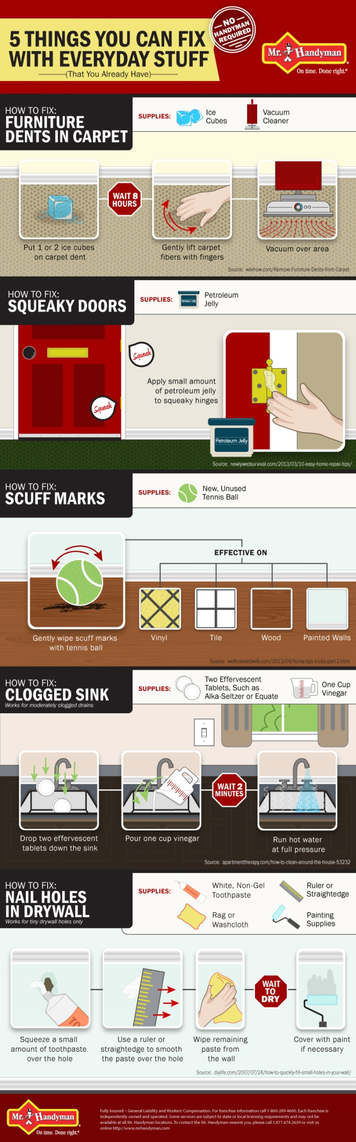 DIY Home Tips Infographic