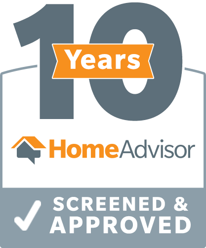 10 Years HomeAdvisor Screened & Approved