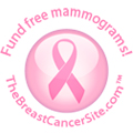 Fund Free Mammograms Badge