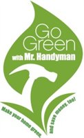 Go Green with Mr. Handyman logo