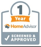 1 year home advisor screened and approved
