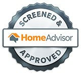 HomeAdvisor Screened & Approved Badge