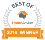 Best of HomeAdvisor 2018 Winner