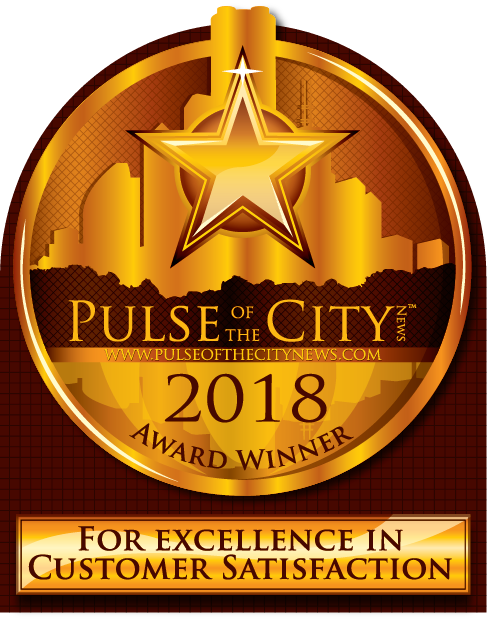Pulse of the City Award Winner 2018 For Excellence in Customer Satisfaction