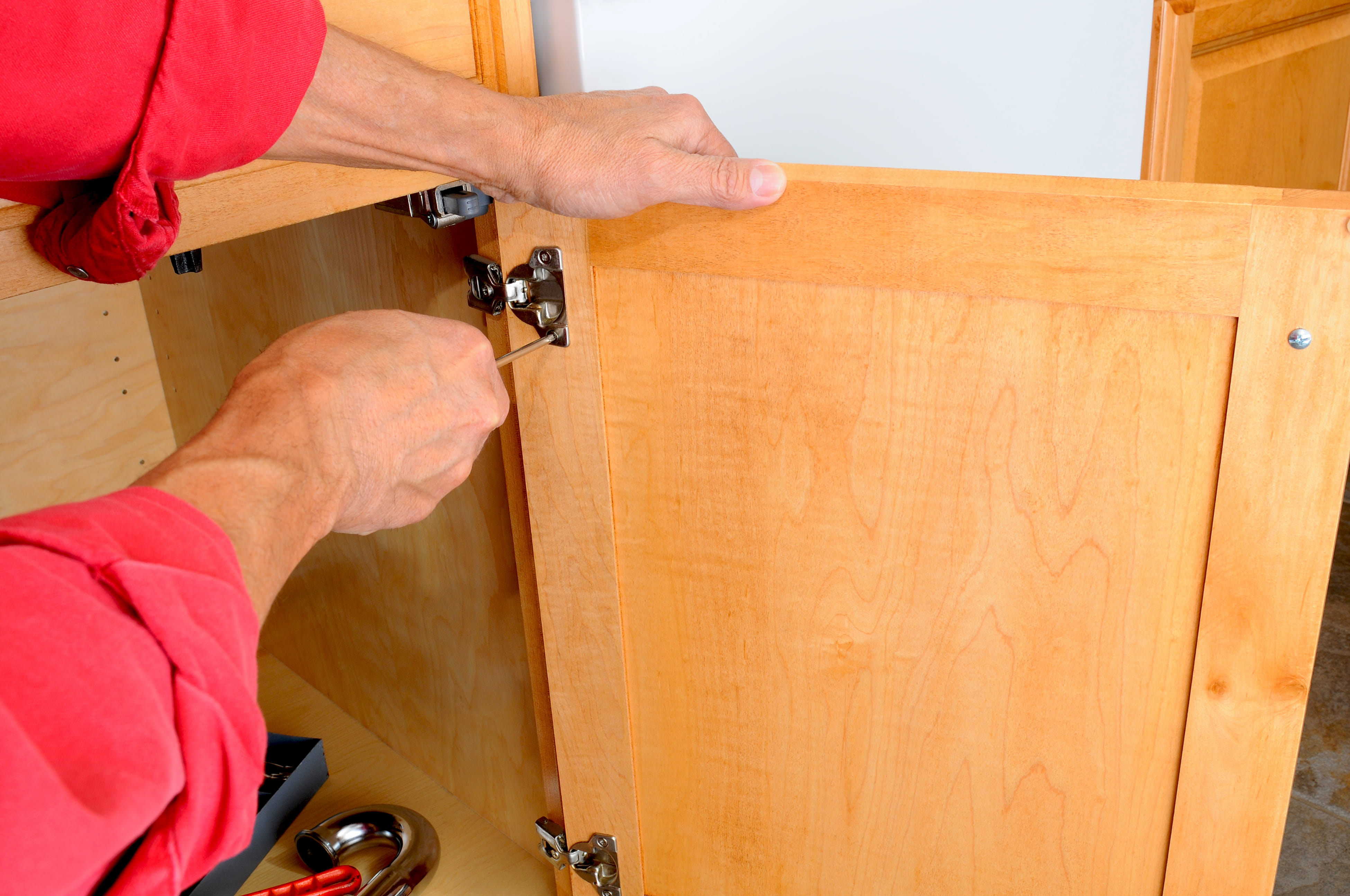 Repair Of Kitchen Cabinets