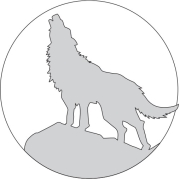 Howling Wolf Carving Pattern
