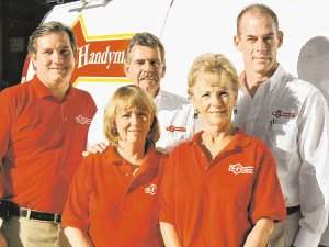 Successful businessman chooses franchise opportunity with Mr. Handyman