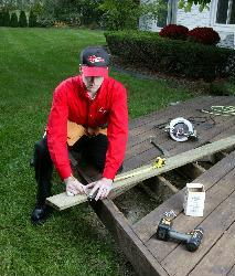 Spring Deck Repair and Maintenance