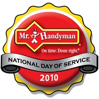Mr. Handyman 2010 National Day of Service Logo