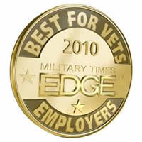 Best for Vets Employers 2010 Military Times Edge