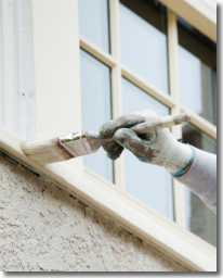 Painting Trim on Exterior Window