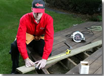 Deck Repair and Maintenance from Mr. Handyman