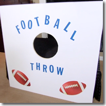 Football throw craft