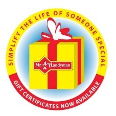 Mr. Handyman  gift certificates  now available button