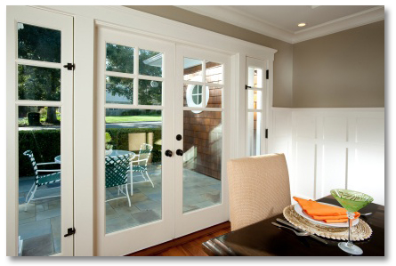 French Doors, Exterior