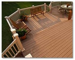 Wood Deck without Roof