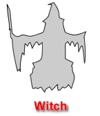 Witch Pumpkin Carving Template
