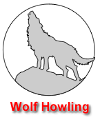 Wolf Howling Pumpkin Carving Template