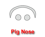 Pig Nose Pumpkin Carving Template