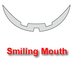 Smiling Mouth Pumpkin Carving Template