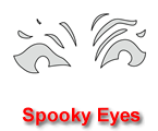 Spooky Eyes Pumpkin Carving Template
