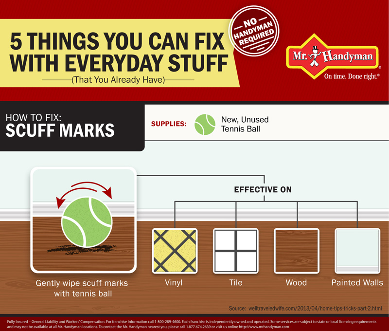 How to Fix: Scuff Marks infographic