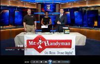 Mr. Handyman of Wheaton shares tips on TV