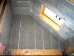 Insulated attic space