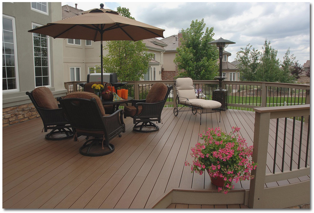 Building a deck plans costs and materials for Composite decking pros and cons