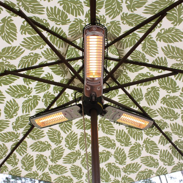 outdoor umbrella  fan