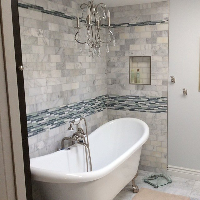 Refresh Your Bathroom By Replacing Drab Shower Tile - Update bathroom tile without replacing